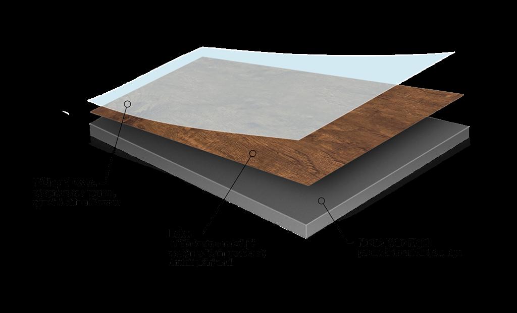 řez rigidní vinylová podlaha Adore Viceroy
